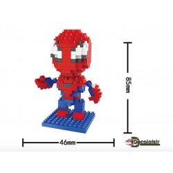 personnage à construire 192 pièces style spider