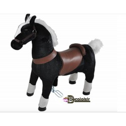 "CHEVAL  ""FUN cheval NOIR-GRAND"