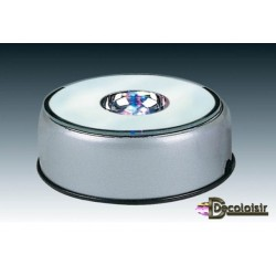 SOCLE TOURNANT à leds diametre 8,5 cm