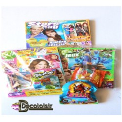 pochette enfant lot 2 livres gulli +1 livre star mag + gadget+bombon haribo